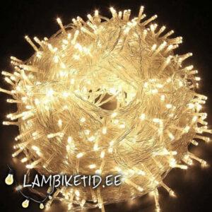 LED kett 30m 600 lampi (rent)